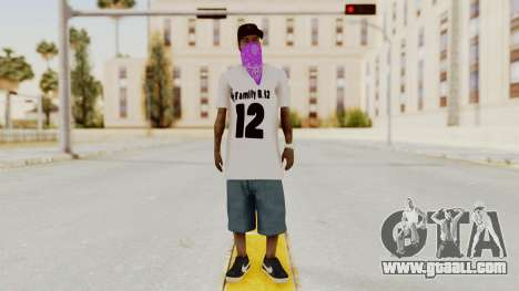New Skin Bmyst 12 for GTA San Andreas second screenshot