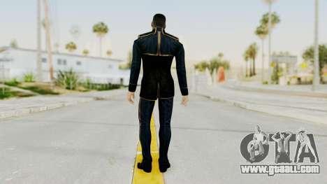Mass Effect 3 Shepard Formal Alliance Uniform for GTA San Andreas third screenshot