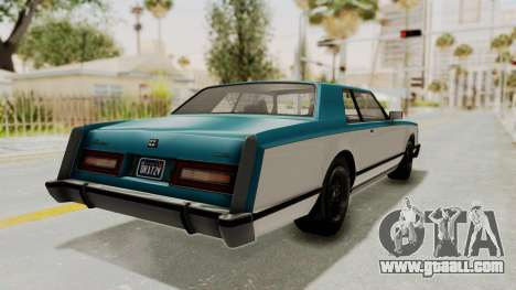 GTA 5 Dundreary Virgo Classic IVF for GTA San Andreas left view