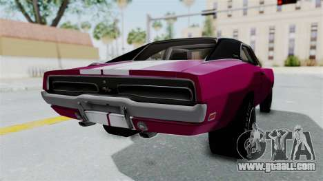 Dodge Charger 1969 Drag for GTA San Andreas left view