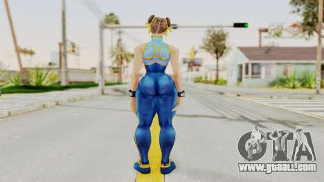 Chun Li Big Ass for GTA San Andreas third screenshot
