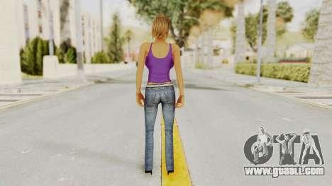 Busty Girl for GTA San Andreas third screenshot