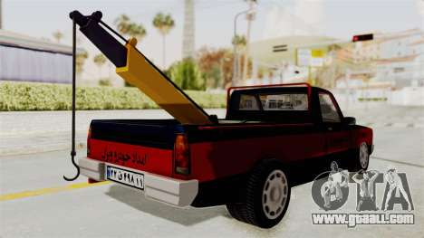 Mazda Tow Truck Pickup for GTA San Andreas left view