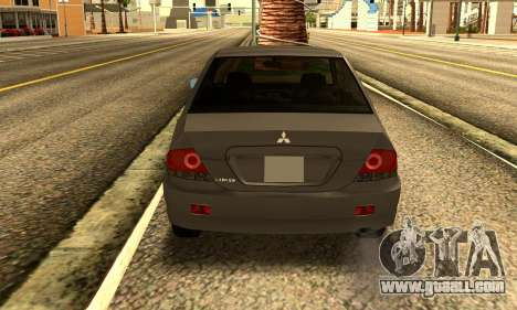 Mitsubishi Lancer 2005 for GTA San Andreas right view