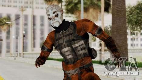 Mass Effect 2 Batarian for GTA San Andreas