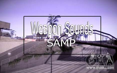Weapon Sounds for GTA San Andreas