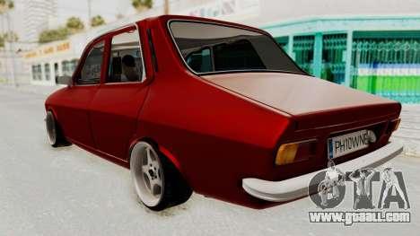 Dacia 1310 WNE for GTA San Andreas back left view
