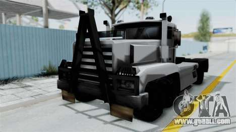 Roadtrain 8x8 v1 for GTA San Andreas