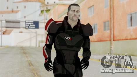 Mass Effect 2 Shepard Default N7 Armor No Helmet for GTA San Andreas
