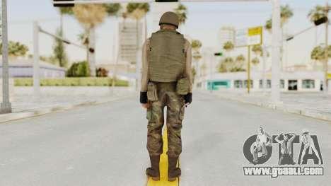 MGSV Phantom Pain RC Soldier Vest v1 for GTA San Andreas third screenshot