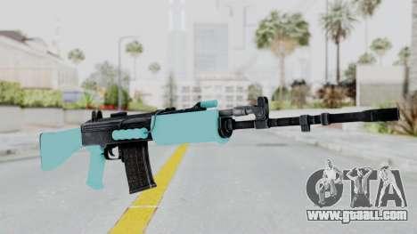 IOFB INSAS Light Blue for GTA San Andreas