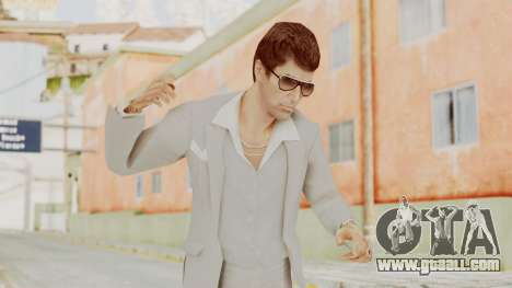 Scarface Tony Montana Suit v1 with Glasses for GTA San Andreas