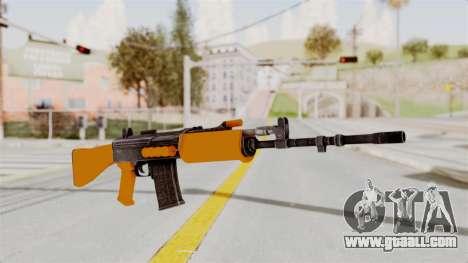 IOFB INSAS Plastic Orange Skin for GTA San Andreas