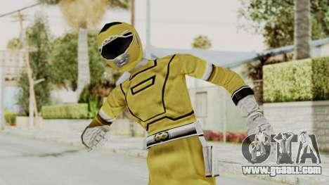 Power Rangers Turbo - Yellow for GTA San Andreas