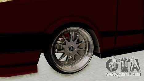 Tofas Dogan 1.6 for GTA San Andreas back view