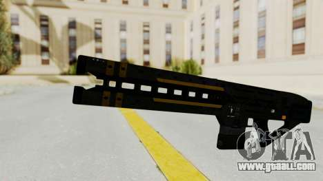 Railgun for GTA San Andreas