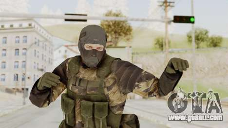 MGSV TPP Diamond Dog Combat Male for GTA San Andreas