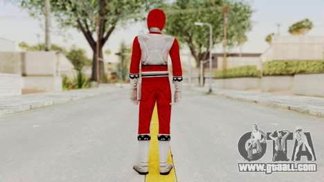 Power Rangers Lost Galaxy - Red for GTA San Andreas third screenshot