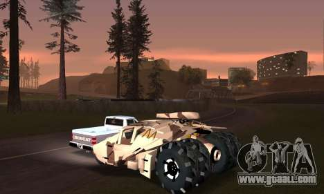 Army Tumbler Gun Tower from TDKR for GTA San Andreas engine