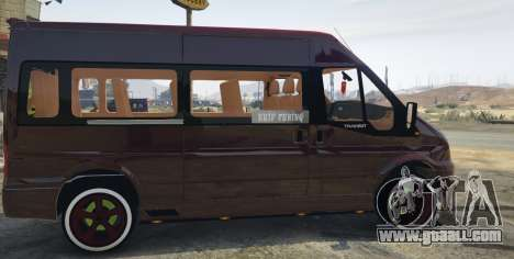 GTA 5 Ford Transit 1.1 [Replace] left side view