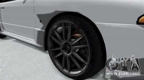 Nissan Skyline BNR32 Hot Version for GTA San Andreas back view