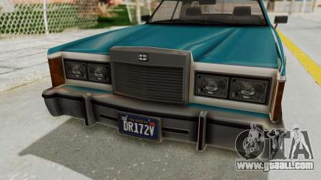 GTA 5 Dundreary Virgo Classic IVF for GTA San Andreas back view