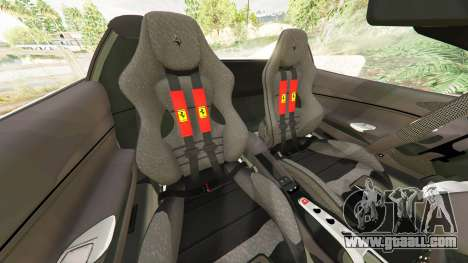 Ferrari 488 GTS for GTA 5