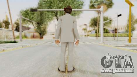 Scarface Tony Montana Suit v1 with Glasses for GTA San Andreas third screenshot