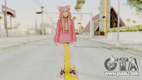 DoA5 LR Marie Rose Newcomer Set for GTA San Andreas second screenshot