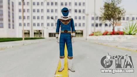 Power Ranger Zeo - Blue for GTA San Andreas second screenshot