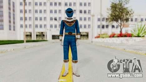 Power Ranger Zeo - Blue for GTA San Andreas second screenshot