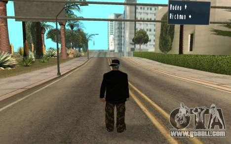 Varios Los Aztecas Gang Member v5 for GTA San Andreas second screenshot