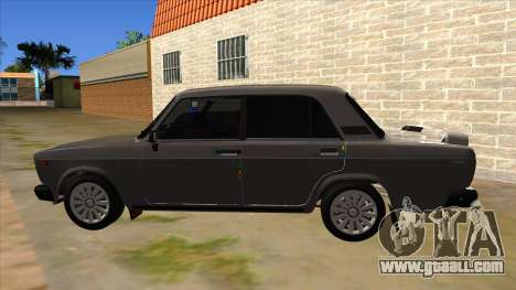VAZ 2107 for GTA San Andreas left view