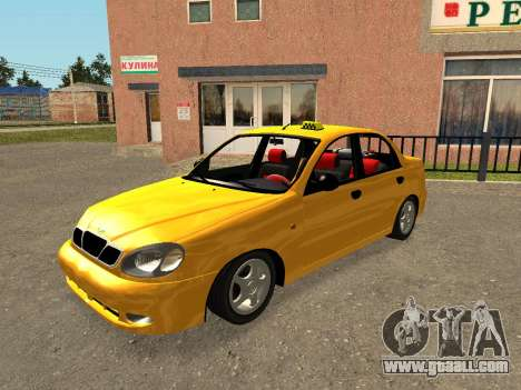 Daewoo Lanos (Sens) 2004 v1.0 by Greedy for GTA San Andreas engine