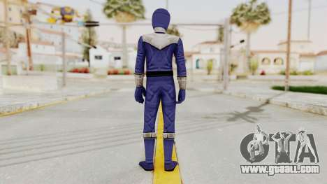 Power Rangers Time Force - Blue for GTA San Andreas third screenshot