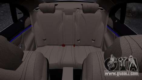 Mercedes-Benz w222 for GTA 4 inner view