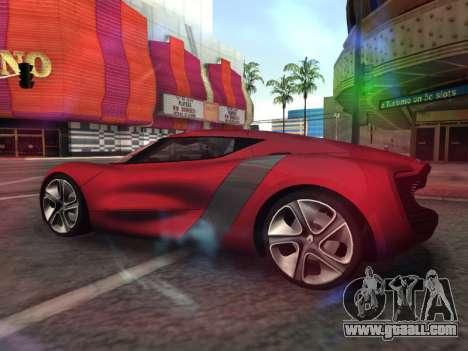Renault Dezir Concept for GTA San Andreas left view