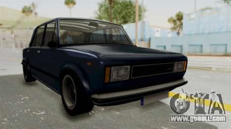 Seat 124 2000 for GTA San Andreas back left view