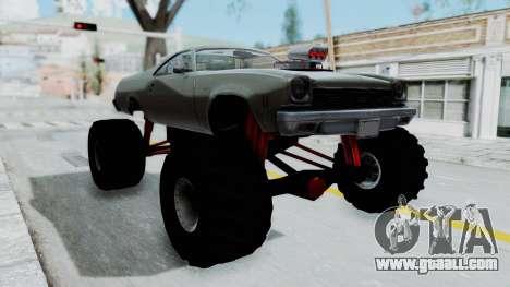 Chevrolet El Camino 1973 Monster Truck for GTA San Andreas