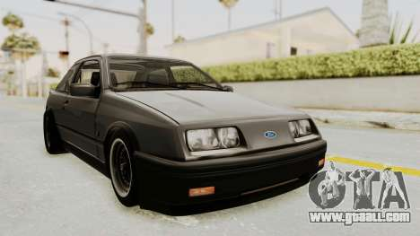 Ford Sierra Mk1 Drag Version for GTA San Andreas