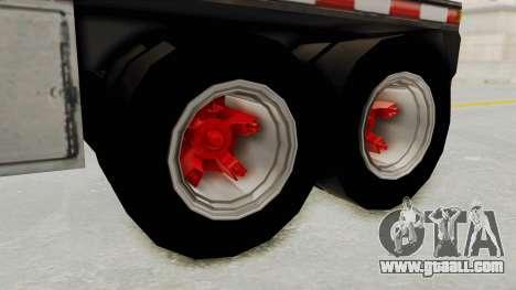 Trailer de Conbustible for GTA San Andreas right view