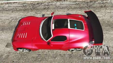 GTA 5 Devon GTX 2010 v0.1 back view