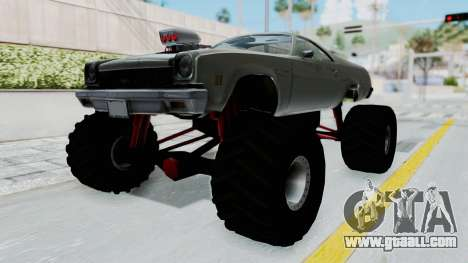 Chevrolet El Camino 1973 Monster Truck for GTA San Andreas right view
