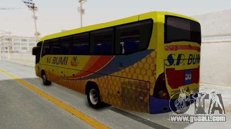 Marcopolo SP Bumi Express for GTA San Andreas left view