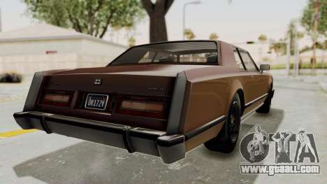 GTA 5 Dundreary Virgo Classic for GTA San Andreas right view