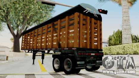 Trailer de Estacas for GTA San Andreas right view