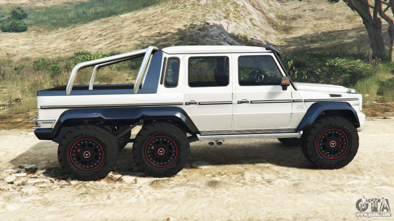 Mercedes benz g65 amg 6x6 for gta 5 for Mercedes benz amg 6x6