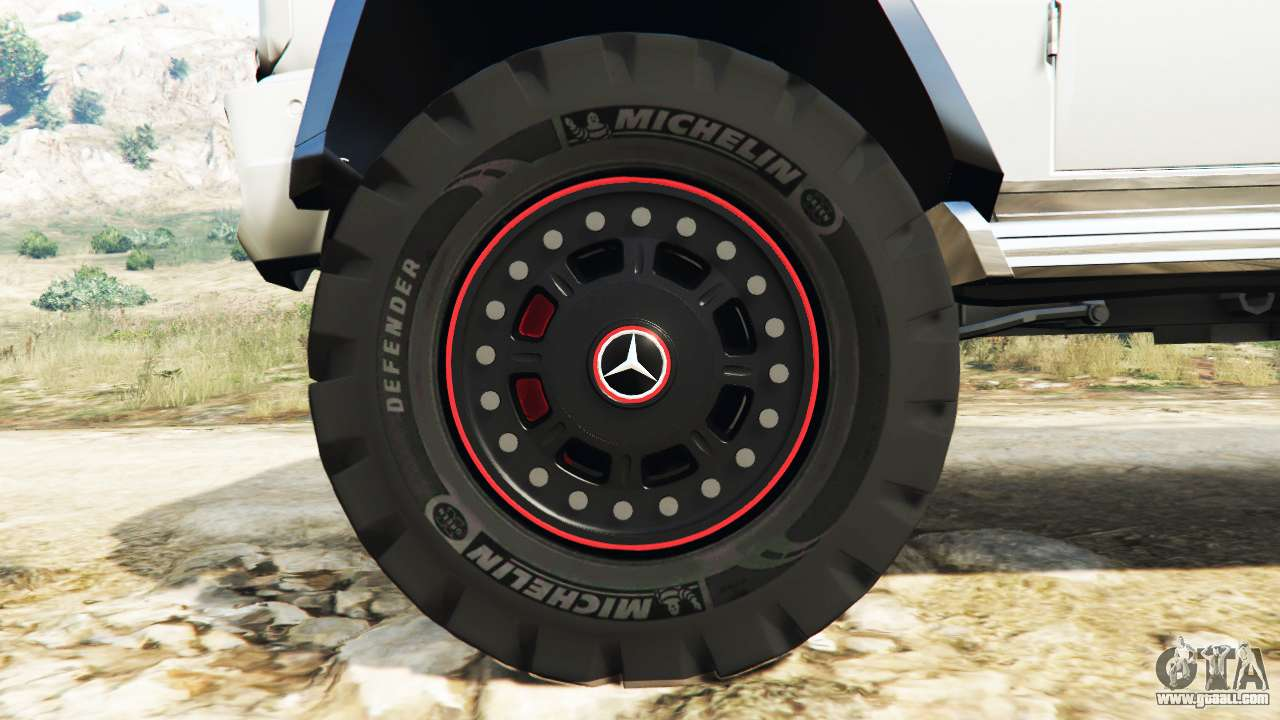 Mercedes benz g65 amg 6x6 for gta 5 for Mercedes benz 6 wheel
