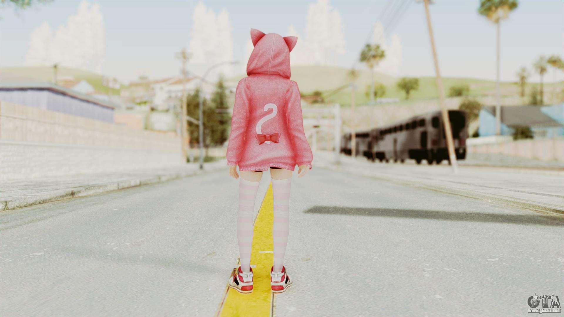 DoA5 LR Marie Rose Newcomer Set for GTA San Andreas