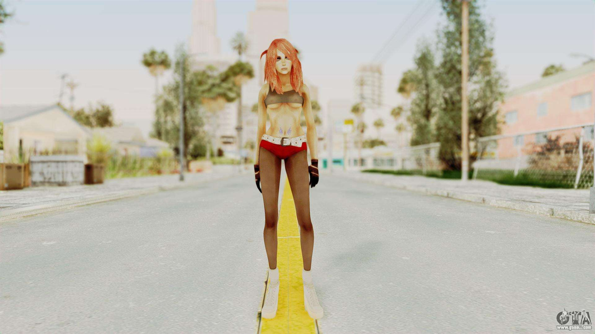 Badgirl Nude for GTA San Andreas